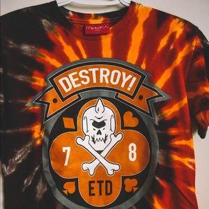 Mishka ETD Tie Dye | Orange/Black